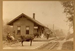 Newfane Depot, c.1885