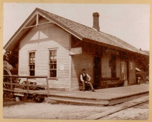 Newfane Depot, Another View, c. 1885